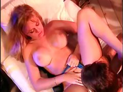 One of the porn greats Dyanna Lauren gets fuck wild with this guy