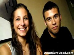 Teen spanish couple