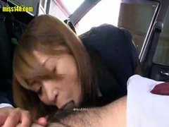 sexy japanese lady taxi driver av014 1 of 3