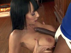 Alia Janine is a horny insatiable big titted wife who