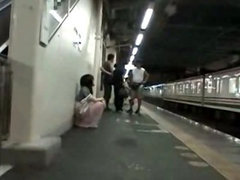 Drunk Teengirl abused in Train 1
