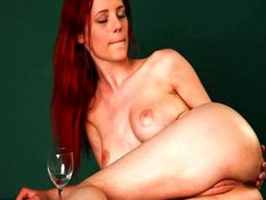 Redhead Arial glamour on billiards