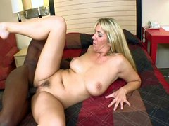 Naughty mom fucks a BBC