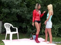 Super hot blond babe gets pussy licked part4