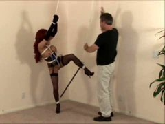 Shannon Kelly in hot lingerie and bondage