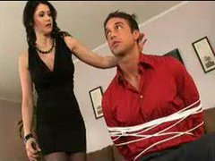 Hot Cougar Mom Eve In Stockings SM65
