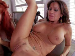Tara Holiday and Vanessa Videl are two slutty mature women